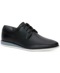 Calvin Klein Men's Kellen Leather Oxfords Men's Shoes Black