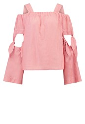 Designers Remix Milla Blouse Dusty Red