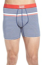 Saxx Men's 'Vibe' Stretch Boxer Briefs Bright Navy Hiker