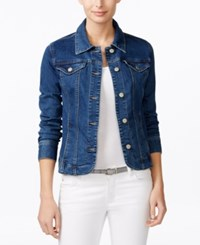 Charter Club Denim Jacket Only At Macy's Nantucket Wash