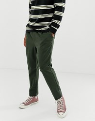 Weekday Thriller Joggers In Khaki Green