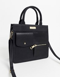 Carvela Han Utility Tote Bag In Black