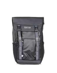 Kenneth Cole Reaction Solid Buckle Backpack Black