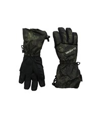Dakine Tracker Glove Peat Camo Extreme Cold Weather Gloves Black