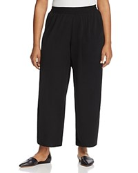 Junarose Relaxed Ankle Pants Black