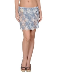 Ermanno Scervino Sarongs Sky Blue