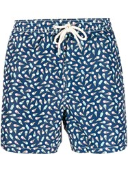 Mc2 Saint Barth Frozen Cream Swimming Shorts Blue