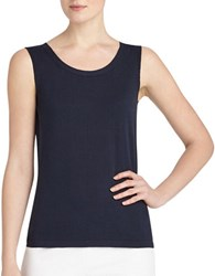 Lafayette 148 New York Cotton Shell Tank Ink