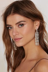 Nasty Gal All Of The Lights Drop Earrings