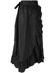 Isabel Marant Alda Midi Skirt Black