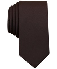 Bar Iii Men's Sable Solid Tie Only At Macy's Brown
