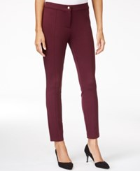Maison Jules Seam Detail Ponte Pants Only At Macy's Vintage Wine