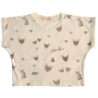 Supersweet X Moumi Reissued Girl Tee Nude Neutrals