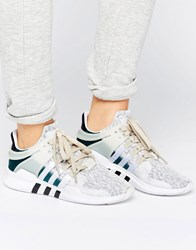Adidas Originals Beige Eqt Support Trainers Clear Brown