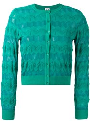 M Missoni Knitted Jacket Blue