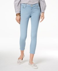 Michael Kors Izzy Skinny Ankle Jeans Regular And Petite A Macy's Exclusive Style Chambray