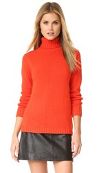 525 America Turtleneck Sweater Geranium
