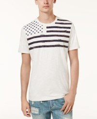 American Rag Men's Graphic T Shirt Created For Macy's Vintage White