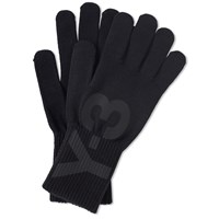 Y 3 Logo Glove Black