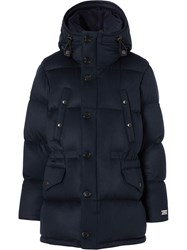 Burberry Cashmere Hooded Puffer Coat 60