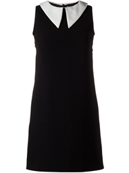 Charles Anastase Pointed Collar Shift Dress