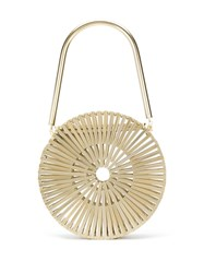 Cult Gaia Luna Bag Gold