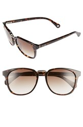 Men's Jack Spade 'Strickland' 53Mm Retro Sunglasses Havana Brown Gradient