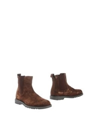 Lumberjack Ankle Boots Cocoa