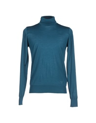 Emporio Armani Turtlenecks Deep Jade