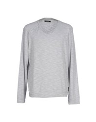 Gaudi' Knitwear Jumpers Men Light Grey