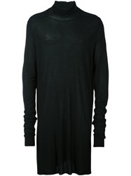 Rick Owens Long Length Jumper Black