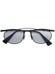 Kuboraum Maske H52 Glasses Metal Acetate Black