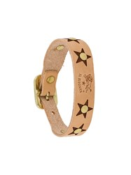 Il Bisonte Star Studded Bracelet Nude And Neutrals
