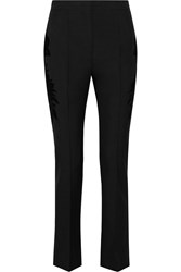 Givenchy Skinny Pants In Flocked Wool