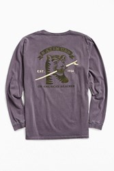 Katin Toothpick Long Sleeve Tee Purple