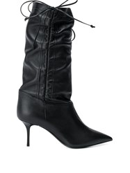 Msgm Ruched Design Boots 60