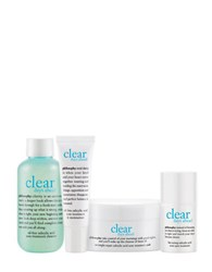 Philosophy Clear Days Ahead Trial Kit 67.00 Value No Color