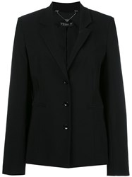 Twin Set Flared Sleeves Blazer Black