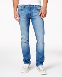 Guess Men's Slim Fit Light Blue Jeans
