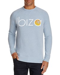 Junk Food Ibiza Graphic Sweatshirt 100 Bloomingdale's Exclusive Vnt Blu Hr