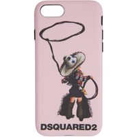Dsquared2 Pink Logo Iphone 8 Case