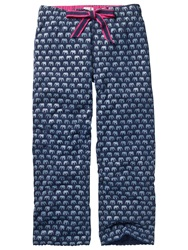 Fat Face Elephant Jersey Pyjama Bottoms Navy