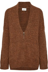 3.1 Phillip Lim Knitted Cardigan Tan