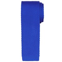 John Lewis Kin By Mercer Knitted Tie Electric Blue