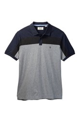 Original Penguin Athletic Two Panel Polo Big And Tall Gray