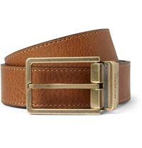 Mulberry Reversible 3Cm Full Grain Leather Belt Brown