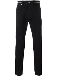 Givenchy Distressed Jeans Black