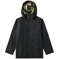 Barbour Sl Bedale Hooded Wax Jacket Japan Collection Black