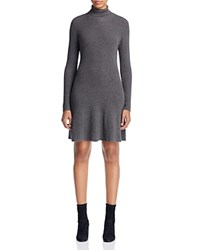 Design History Turtleneck Sweater Dress Wall Street Grey