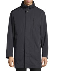 Sanyo Water Repellent Coat Blue